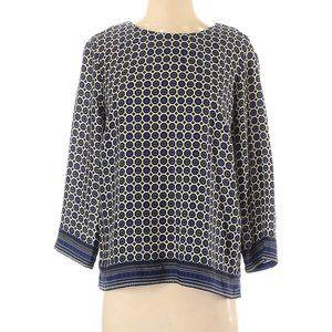 Cynthia by Cynthia Rowley 3/4 Sleeve Blouse Size X